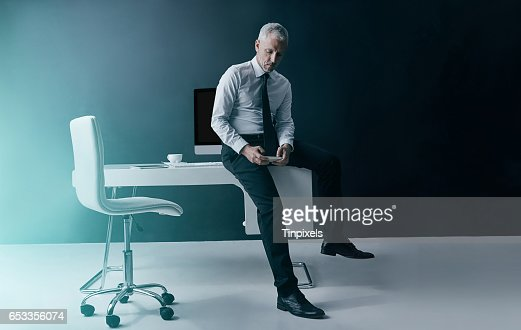 Business time, anytime : Stockfoto