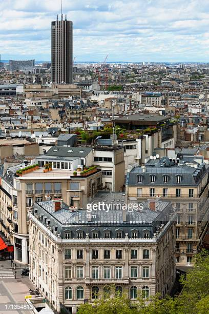 Business Tower Tour Montparnasse & Roofs of Paris, France