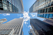 Business towers in New York City