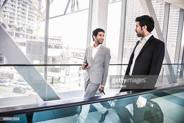Business travel in Dubai