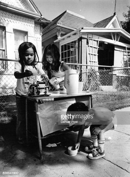 Business Was Brisk At The Lemonade Stand With the temperature peaking at 97 degrees Monday it wasn't a bad day to go into the lemonade business Dawn...