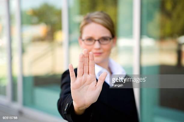 Business Woman / Hand