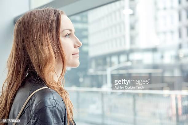 Business woman, New York, USA