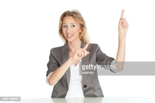 Mulher de Negócios : Foto de stock