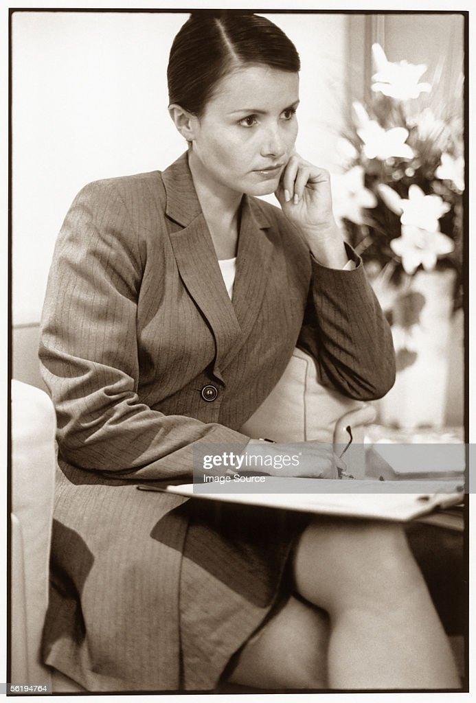 Business woman : Stock Photo