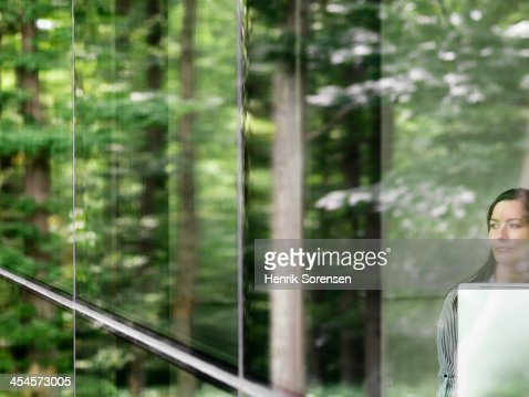 Business woman portrait : Stock Photo