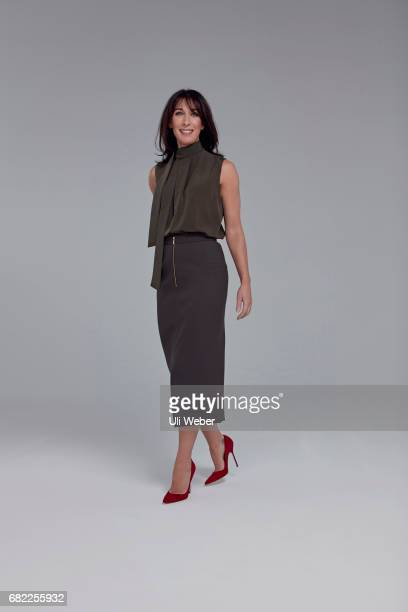 Business woman Samantha Cameron is photographed for the Times magazine on January 31 2017 in London England