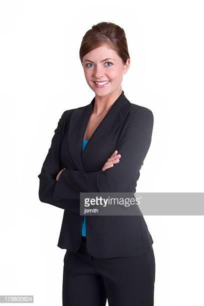 Business-Frau mit Lächeln