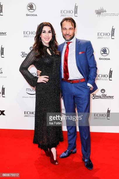 US business womann and presenter Judith Williams and her husband AlexanderKlaus Stecher during the Echo award red carpet on April 6 2017 in Berlin...