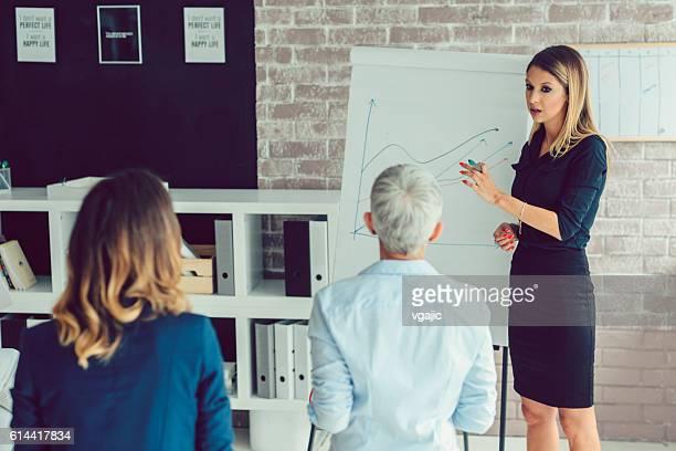 Business Women Presentation