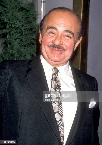 Businessman Adnan Khashoggi attends Imelda Marcos' 61st Birthday Party on July 2 1990 at The Nile Restaurant in New York City