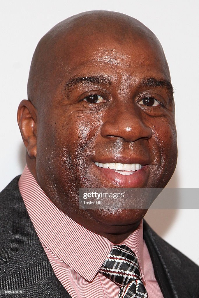 Businessman and former Los Angeles Lakers point guard Earvin 'Magic' Johnson attends the 2013 EBONY Power 100 List Gala at Frederick P. Rose Hall, Jazz at Lincoln Center on November 4, 2013 in New York City.