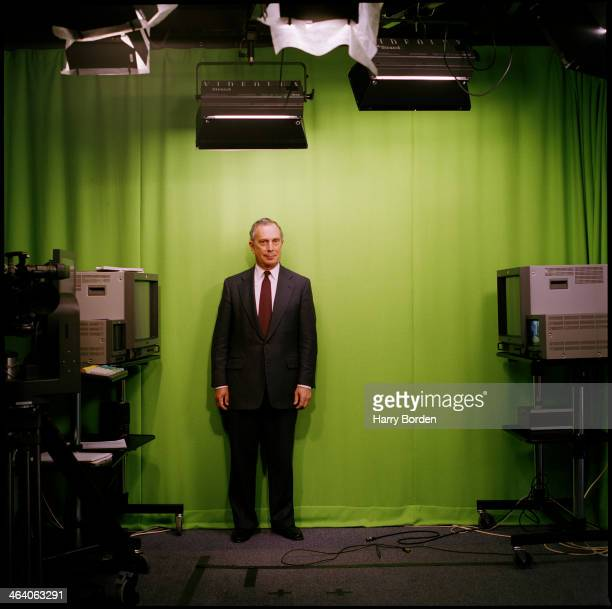 Businessman and former mayor of New York Michael Bloomberg is photographed for ES magazine on July 2 1999 in London England