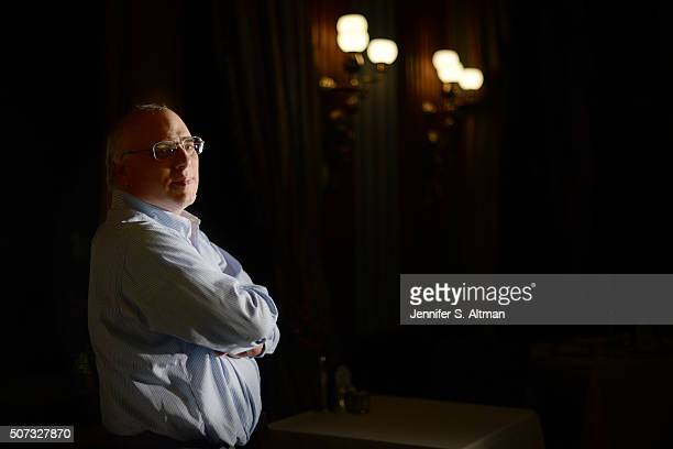 Businessman and member of the Patriotic Millionaires Morris Pearl is photographed for Boston Globe on December 3 2015 at The Penn Club in New York...