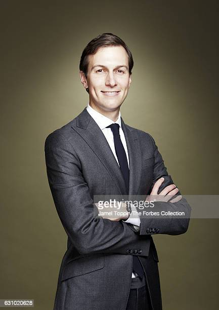 Businessman and political advisor Jared Kushner is photographed for Forbes Magazine on November 17 2016 in New York City CREDIT MUST READ Jamel...