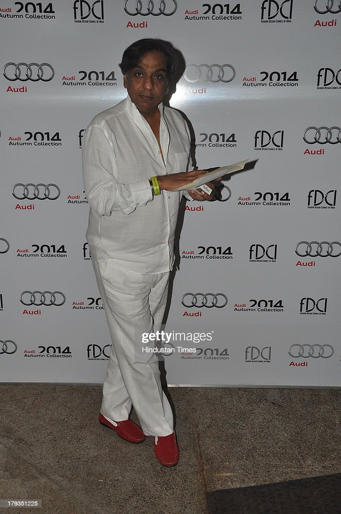 Businessman and socialite Kishen Mulchandani during FDCI and Audi India's winter collection at Tote, Mahalaxmi Race Course on August 30, 2013 in Mumbai, India.