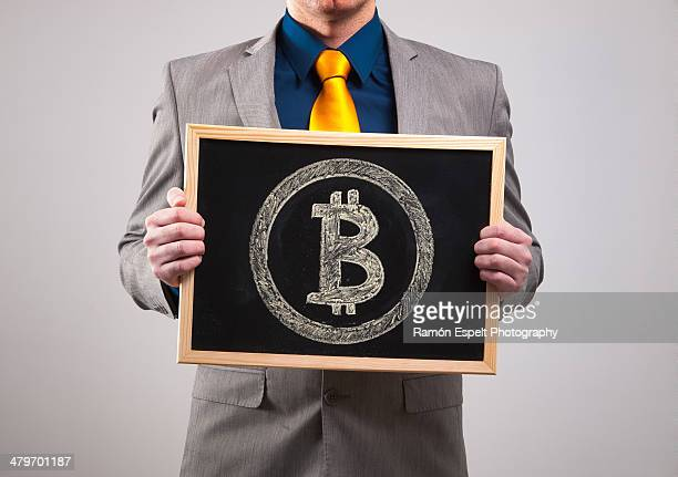 Businessman Bitcoin