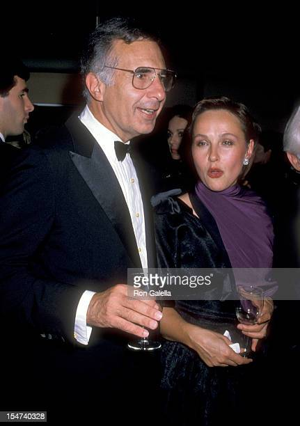 Businessman Carl Icahn and wife Liba Icahn attend the Opening Night of the 148th Season of The New York Philharmonic on September 20 1989 at Avery...