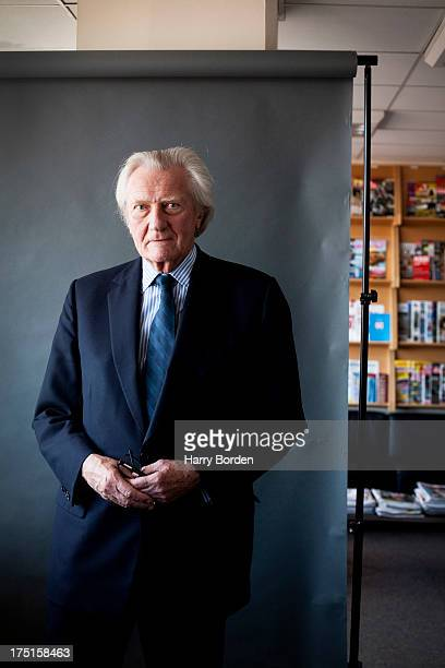 Businessman Conservative politician and patron of the Tory Reform Group Michael Heseltine is photographed for Saga magazine on May 1 2013 in London...