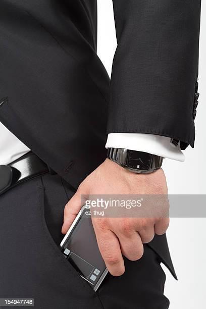 Homme d'affaires de détail