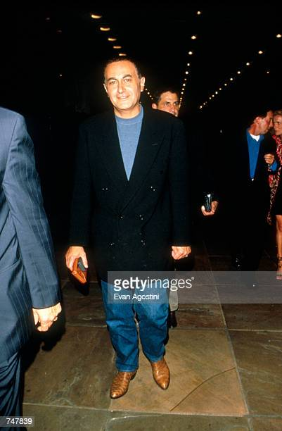 Businessman Dodi Fayed shares a night out in New York City with his friends August 19 1997