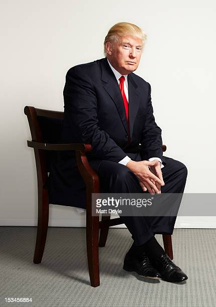 Businessman Donald Trump is photographed for Self Assignment on March 26 2012 in New York City
