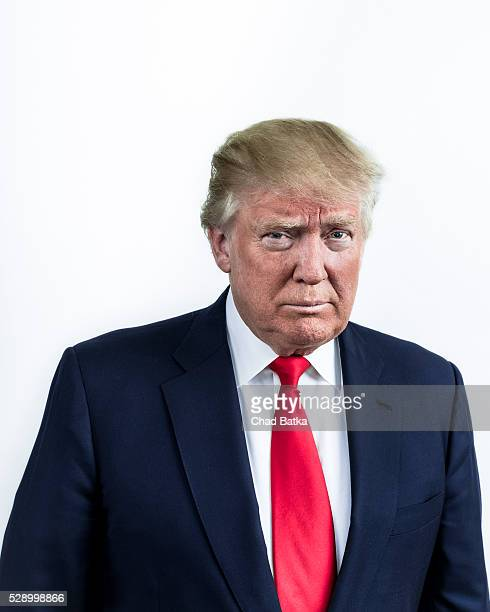 Businessman Donald Trump is photographed for the New York Times on March 18 2016 in New York City