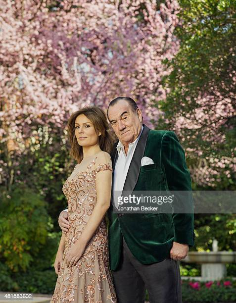 Businessman Fernando Fernandez Tapias and wife actress Nuria Gonzalez are photographed for Vanity Fair Spain on March 13 2015 in Madrid Spain COVER...