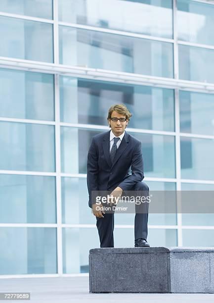 Businessman, full length portrait