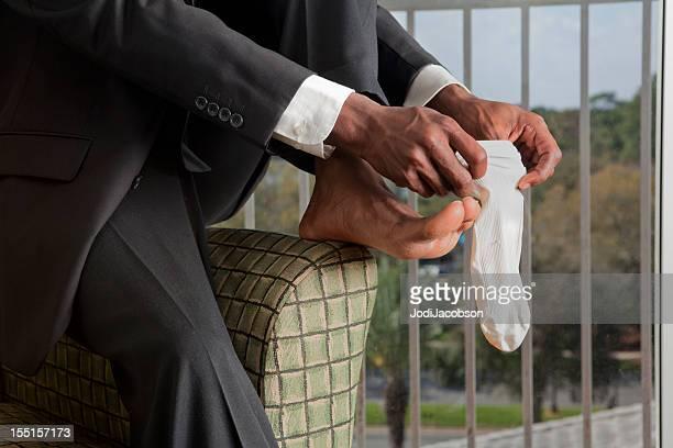 ビジネスマンの服装を取得