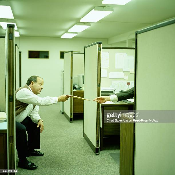 Businessman Giving Envelope