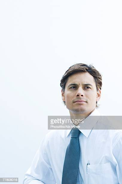 Businessman, head and shoulders, portrait
