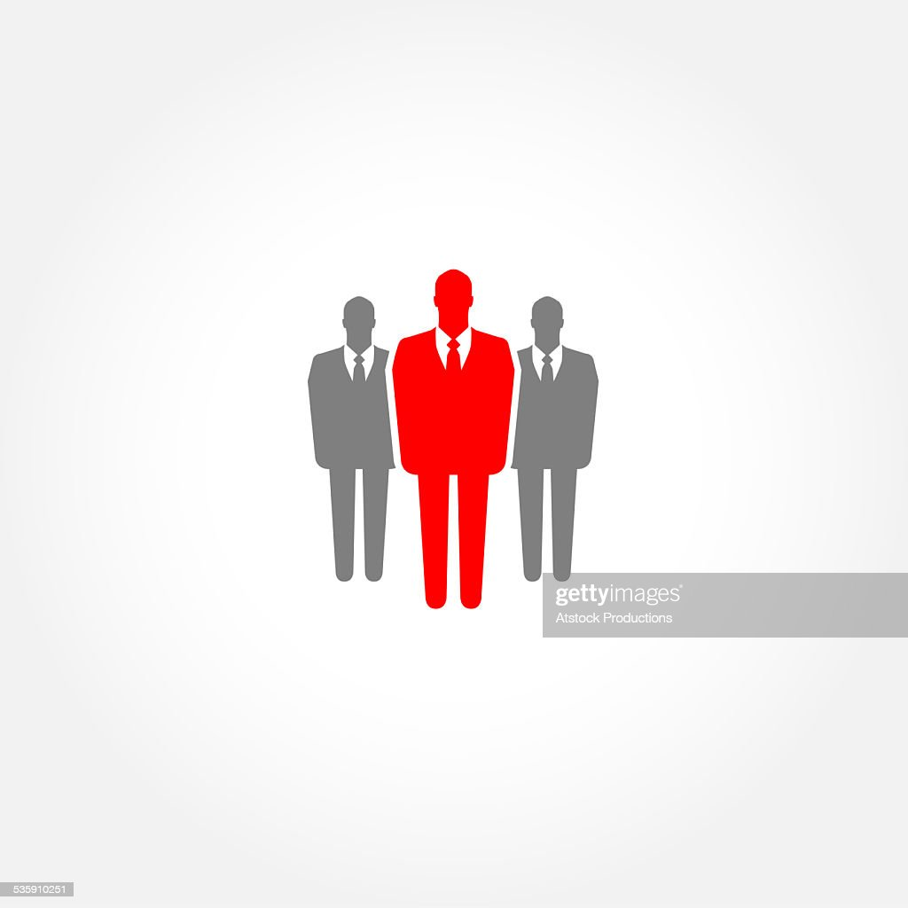 Businessman icon - leader concept : Stock Photo
