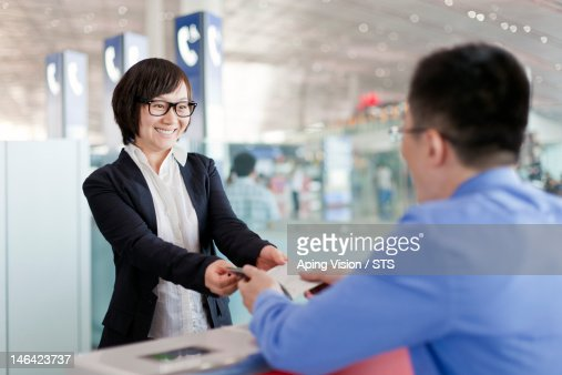 businessman in airport : Foto de stock