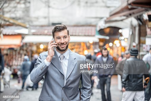 Businessman in Middle East