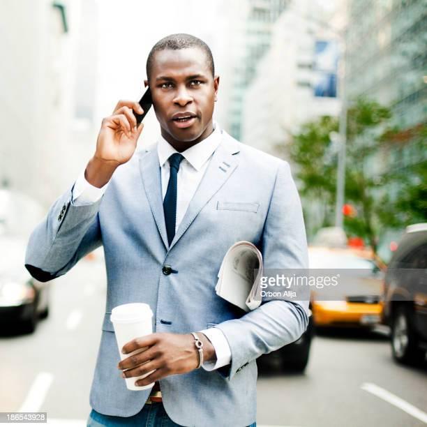 Homme d'affaires à New york