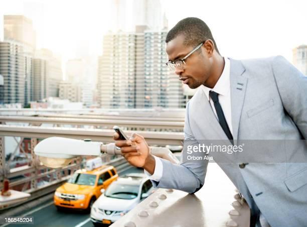 Geschäftsmann in New york