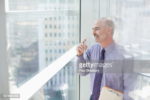 Businessman in office : Stock Photo