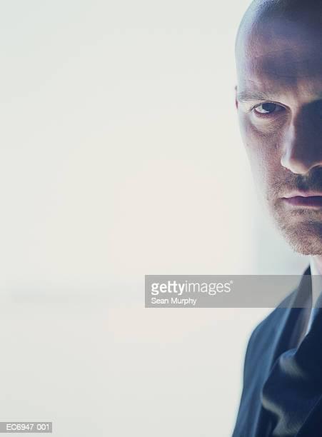 Businessman in suit, portrait