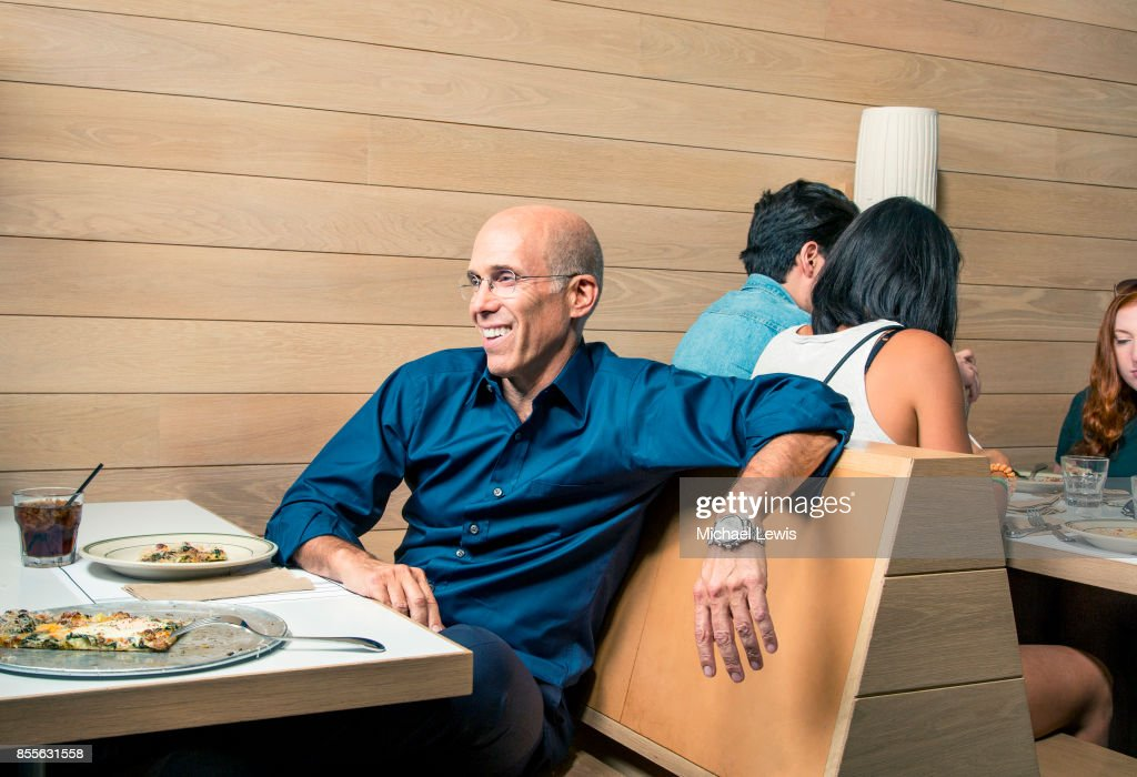 Businessman Jeffrey Katzenberg photographed for Fortune Magazine on August 26, 2016, in Los Angeles, California.