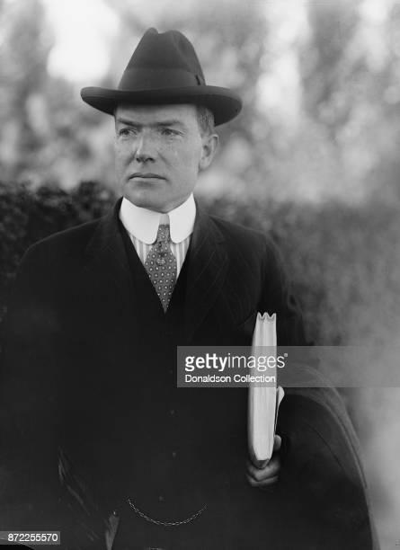 Businessman John D Rockefeller Jr poses for a portrait in 1916