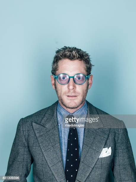 Businessman Lapo Elkann is photographed for Self Assignment on Novemeber 7 2012 in Milan Italy