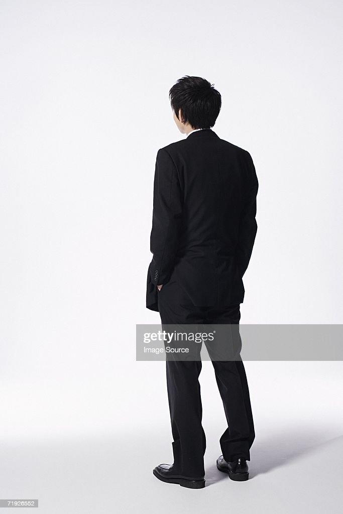 Businessman looking away : Stock Photo