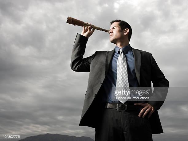 ビジネスマン覗き spyglass