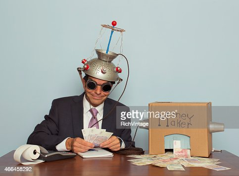 Businessman Makes Money Out of his Mind
