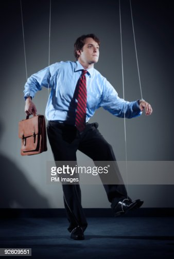 Businessman Marionette
