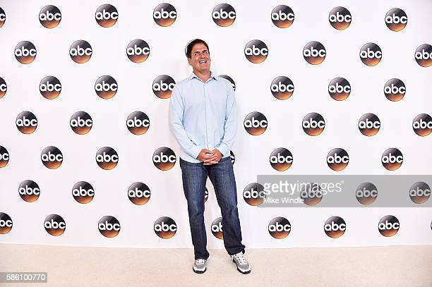 Businessman Mark Cuban attends the Disney ABC Television Group TCA Summer Press Tour on August 4 2016 in Beverly Hills California