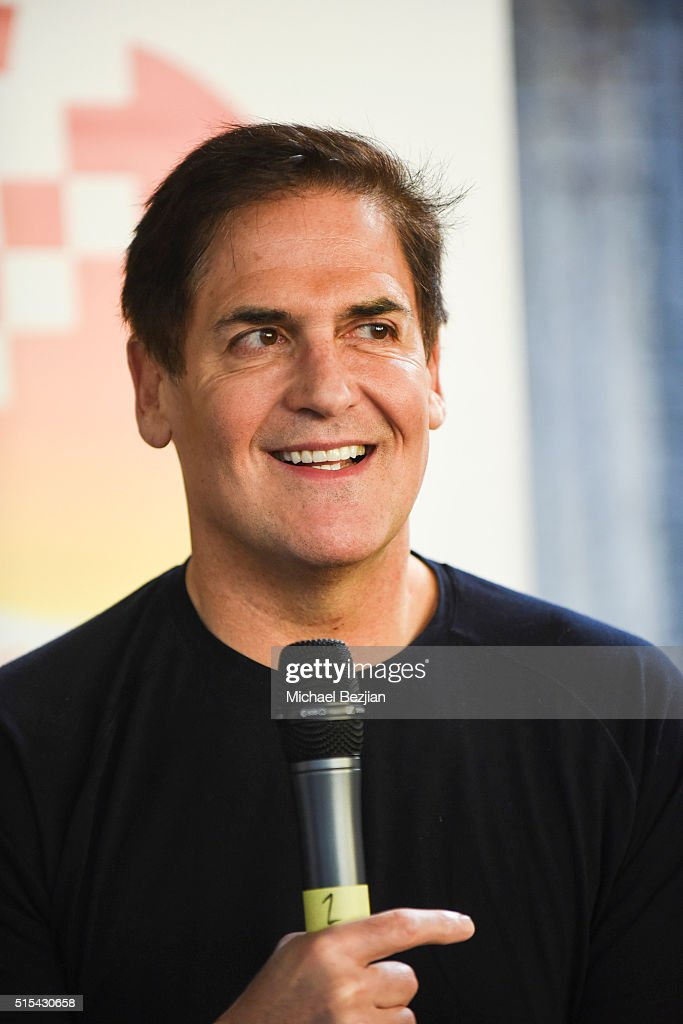 Businessman Mark Cuban speaks at Brand Innovators at SXSW on March 13 2016 in Austin Texas