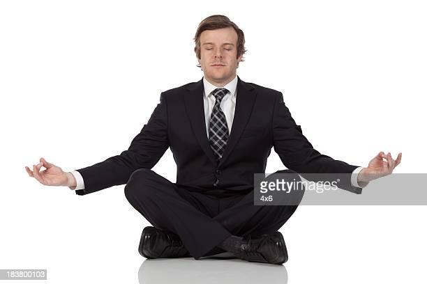Empresario Meditando