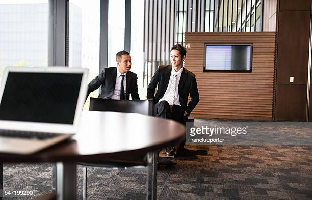 businessman meeting on the office